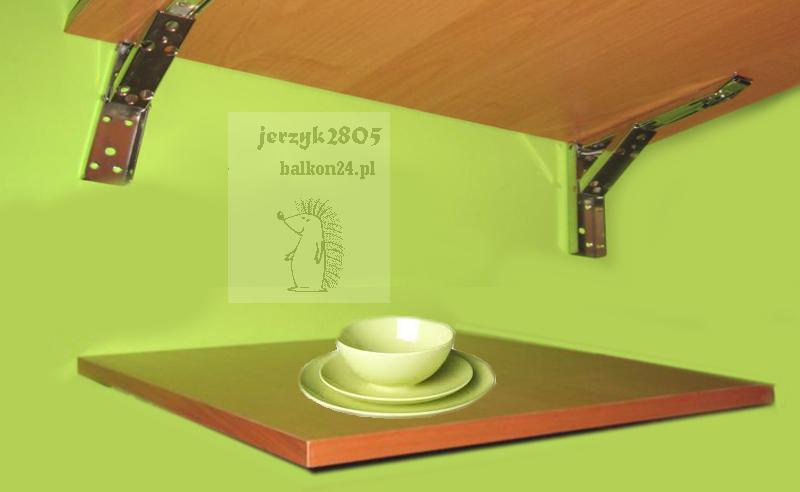 Stół Składany Stolik ścienny Rozkładany Balkon24pl